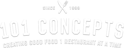 Since 1999. 101 concepts. Creating good foot one restaurant at a time.