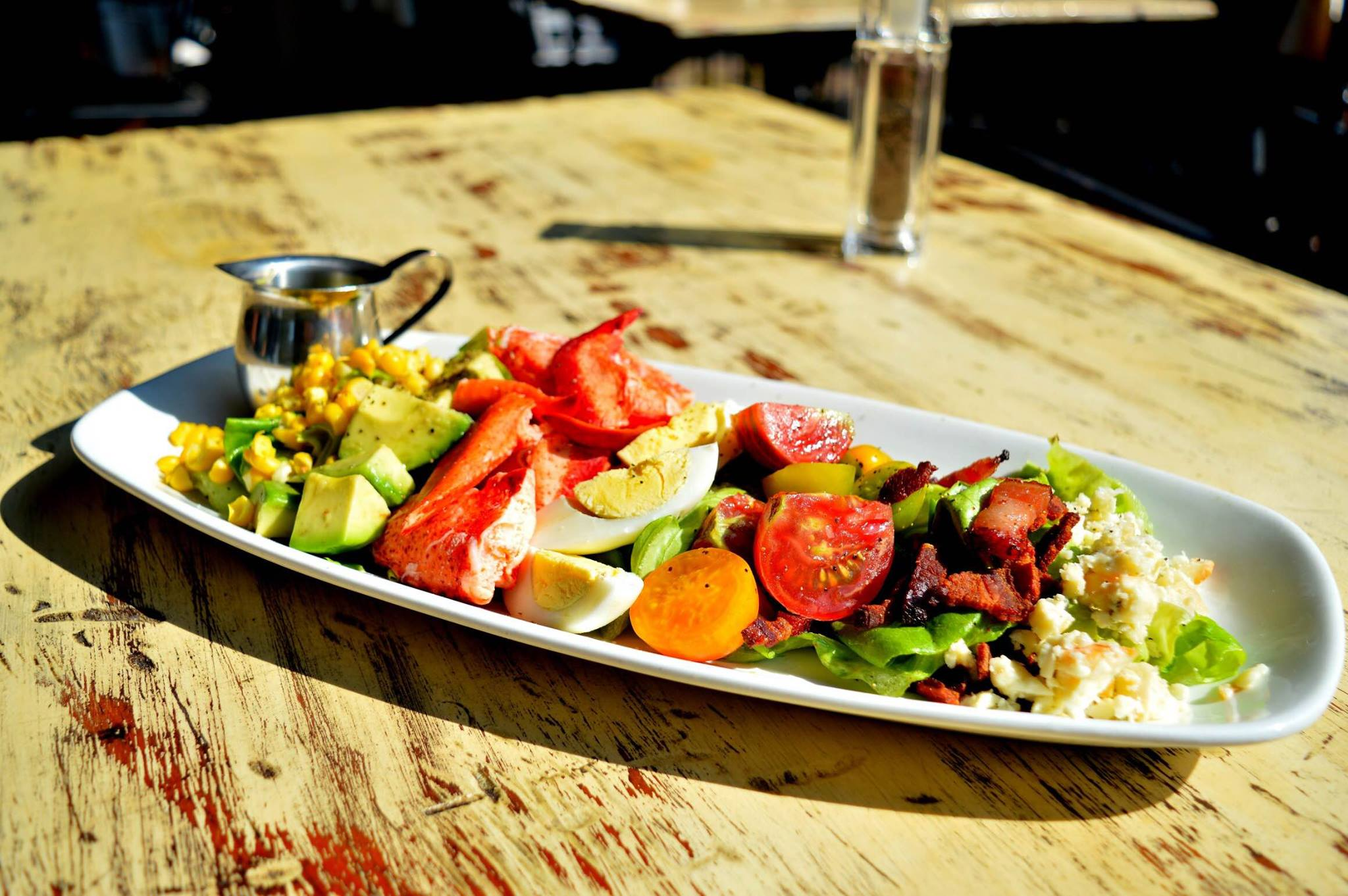 Fresh Cobb Salad Plate