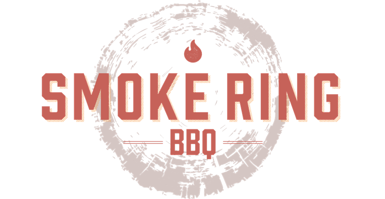 smoke ring bbq logo on wooden log vector graphi and mini flame