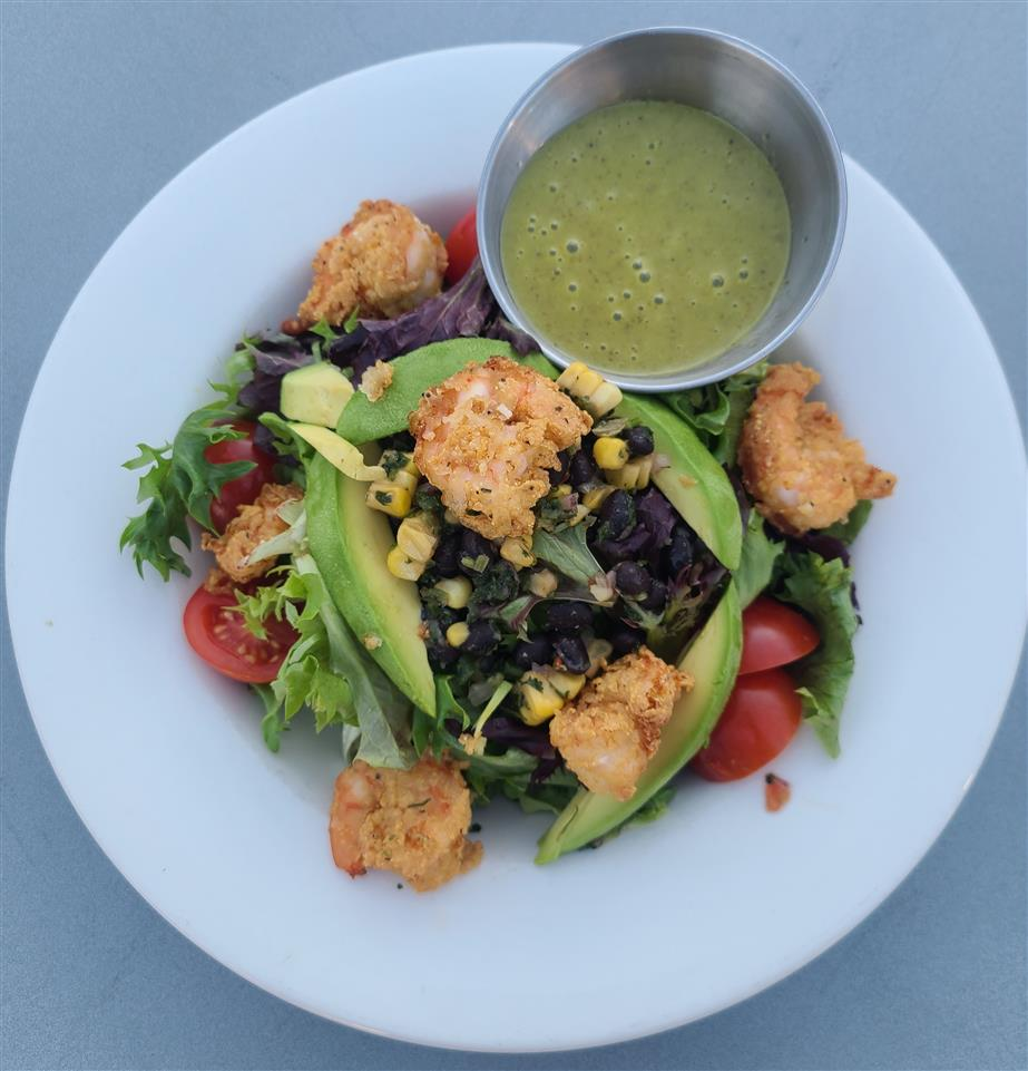 Blackbean and Avocado Shrimp Salad