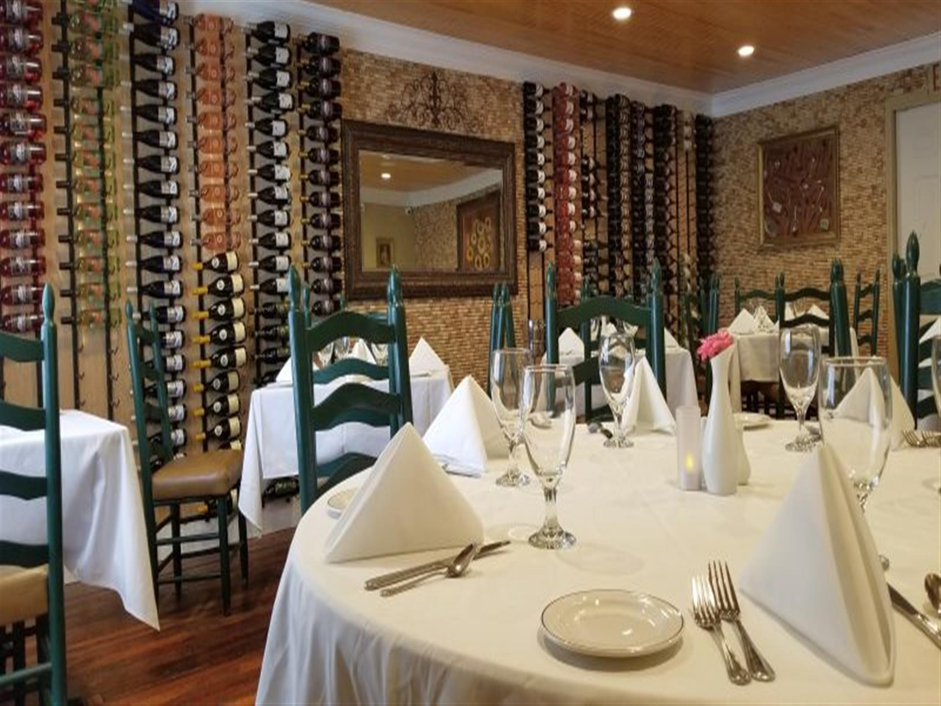 Wine Room: Up to 42 Guests