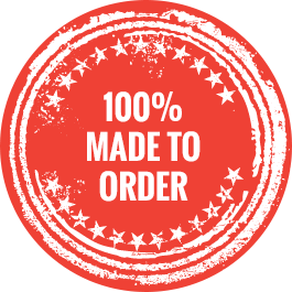 100% made to order