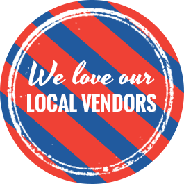 we love our local vendors