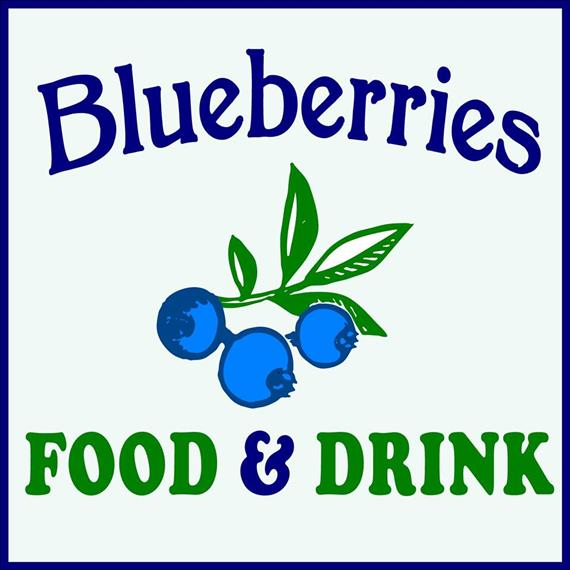 Blueberries food and drink