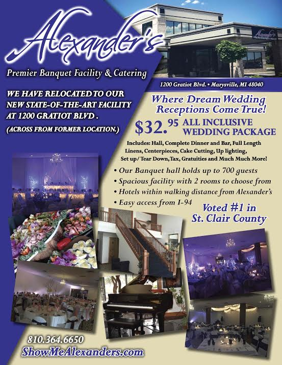 alexanders premier banquet facility and catering events