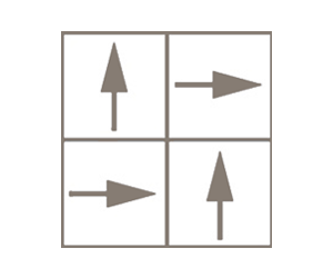 arrows in squares drawing