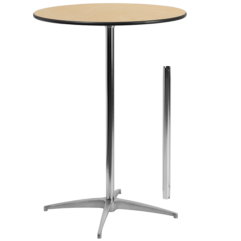 30″ Round – 42″ High Cocktail Table - $11