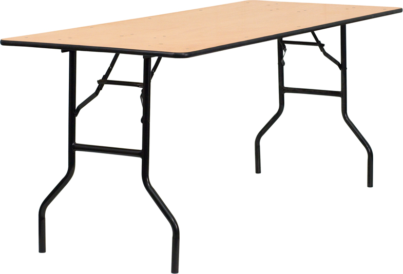 6'x 30″ Rectangular Table — $9.95