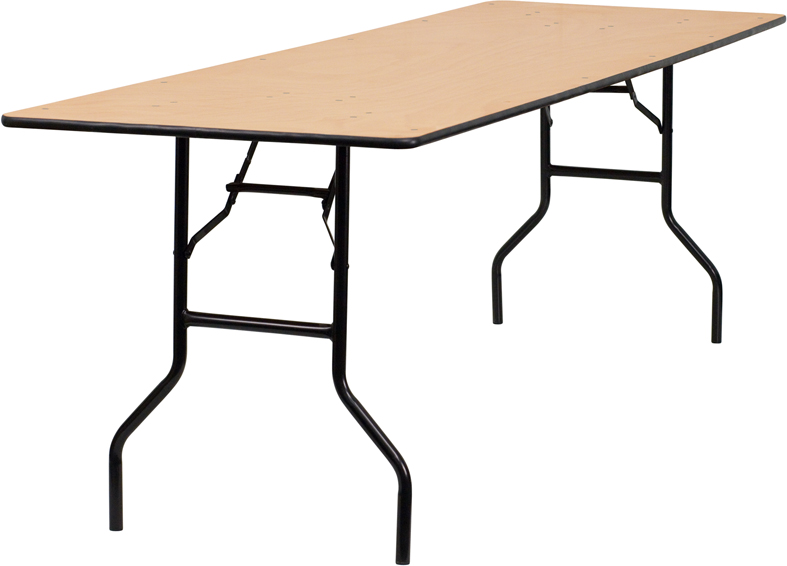 8'x 30″ Rectangular Table — $9.95