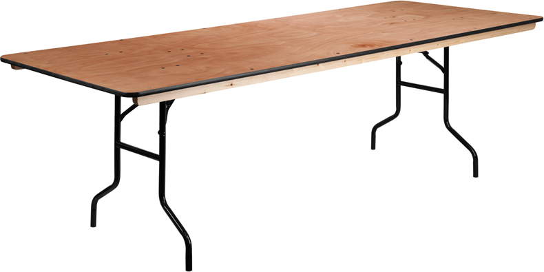 8x 36″ Rectangular Table — $13.50