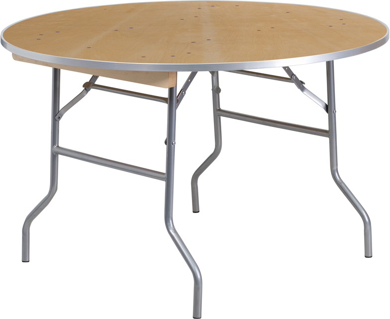 48″ Round Table — $9.95