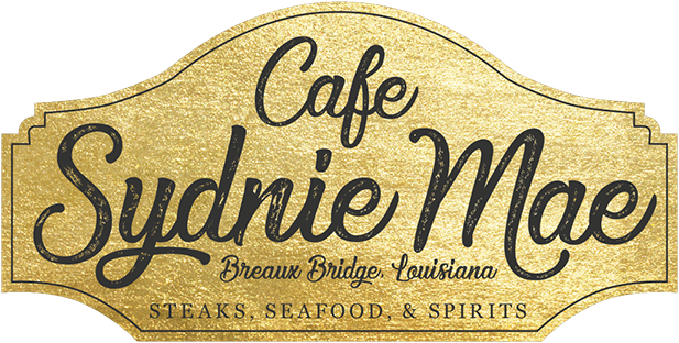 Cafe Syndie Mae breaux bridge louisiana steaks, seafood, and spirits