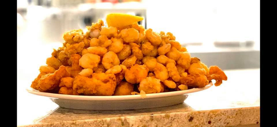 fried clam on a dish