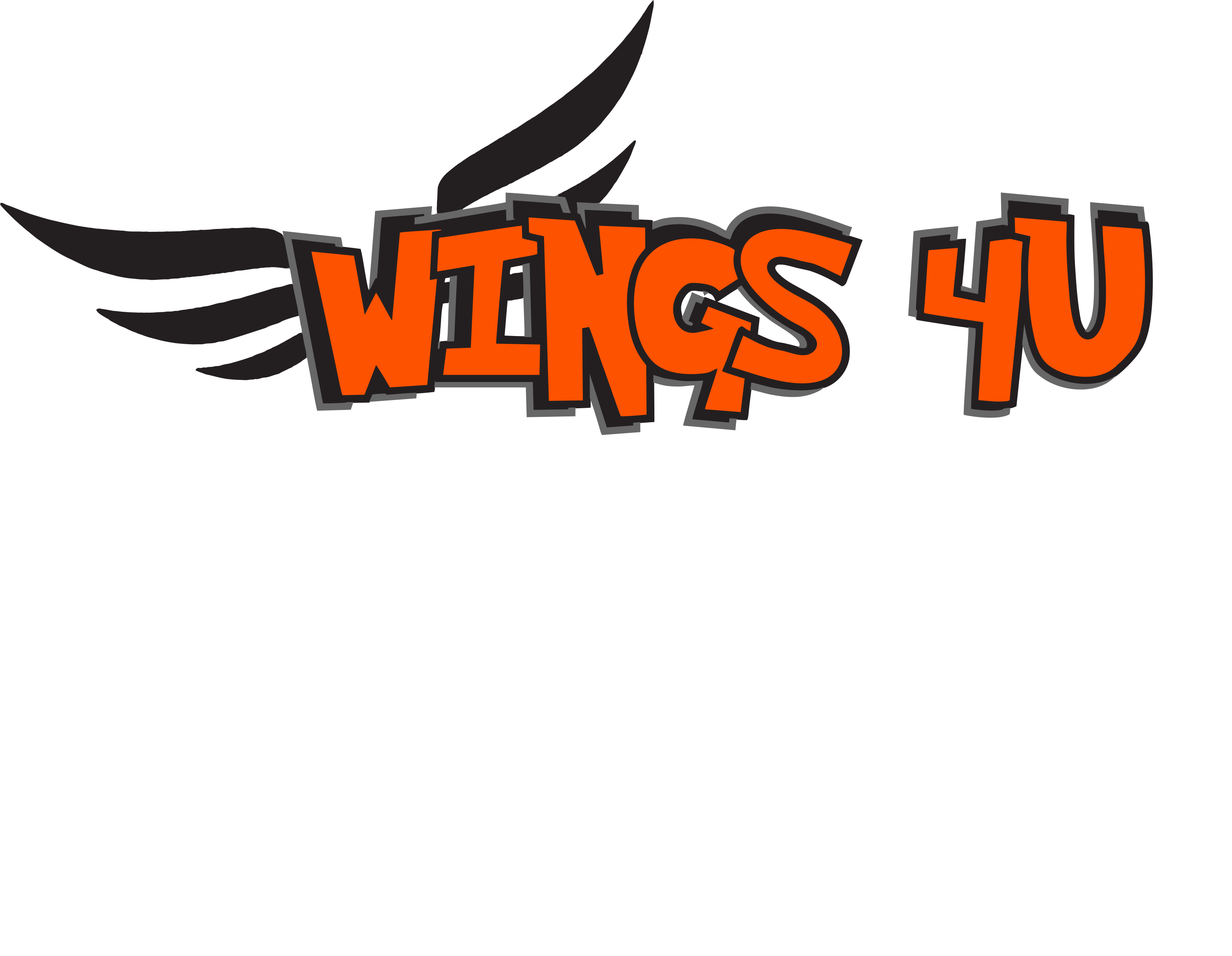 "Wings 4 U ""and the rest of the chicken."" 918-725-1500 Cushing, OK"