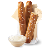 breadsticks with dipping sauce