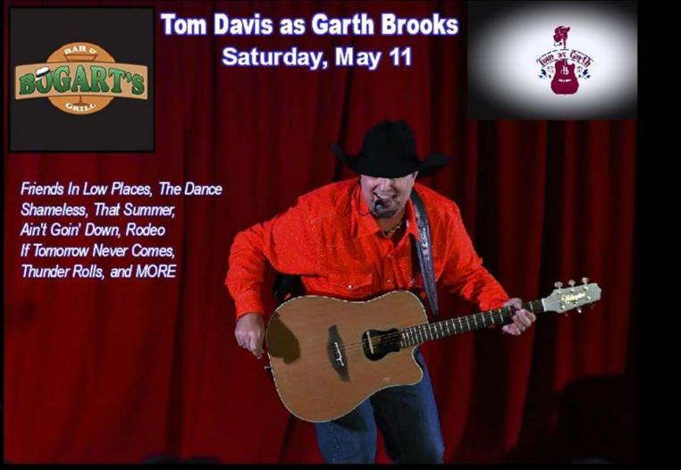 "Tom Davies as ""Garth Brooks"""