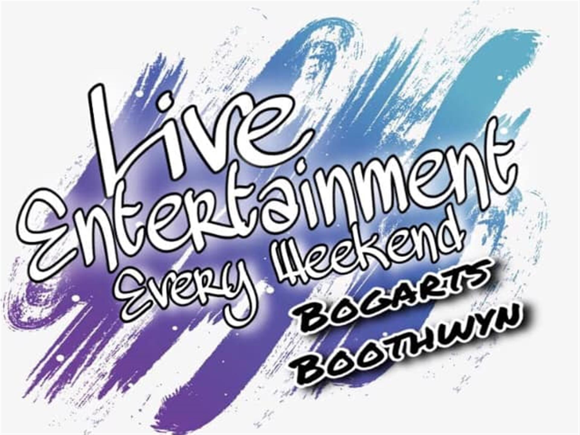 live entertainment every week at bogarts boothwyn