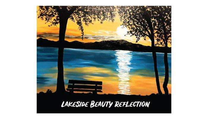 Lakeside beauty reflection