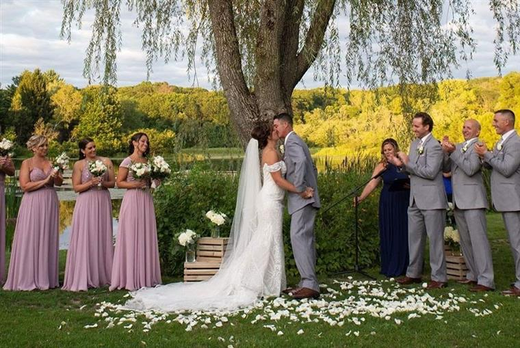 Ceremony Under A Willow Tree
