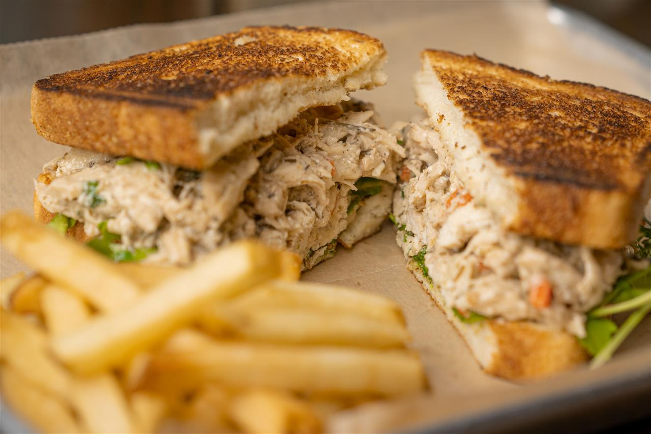 Split Rail Chicken Salad Sandwich