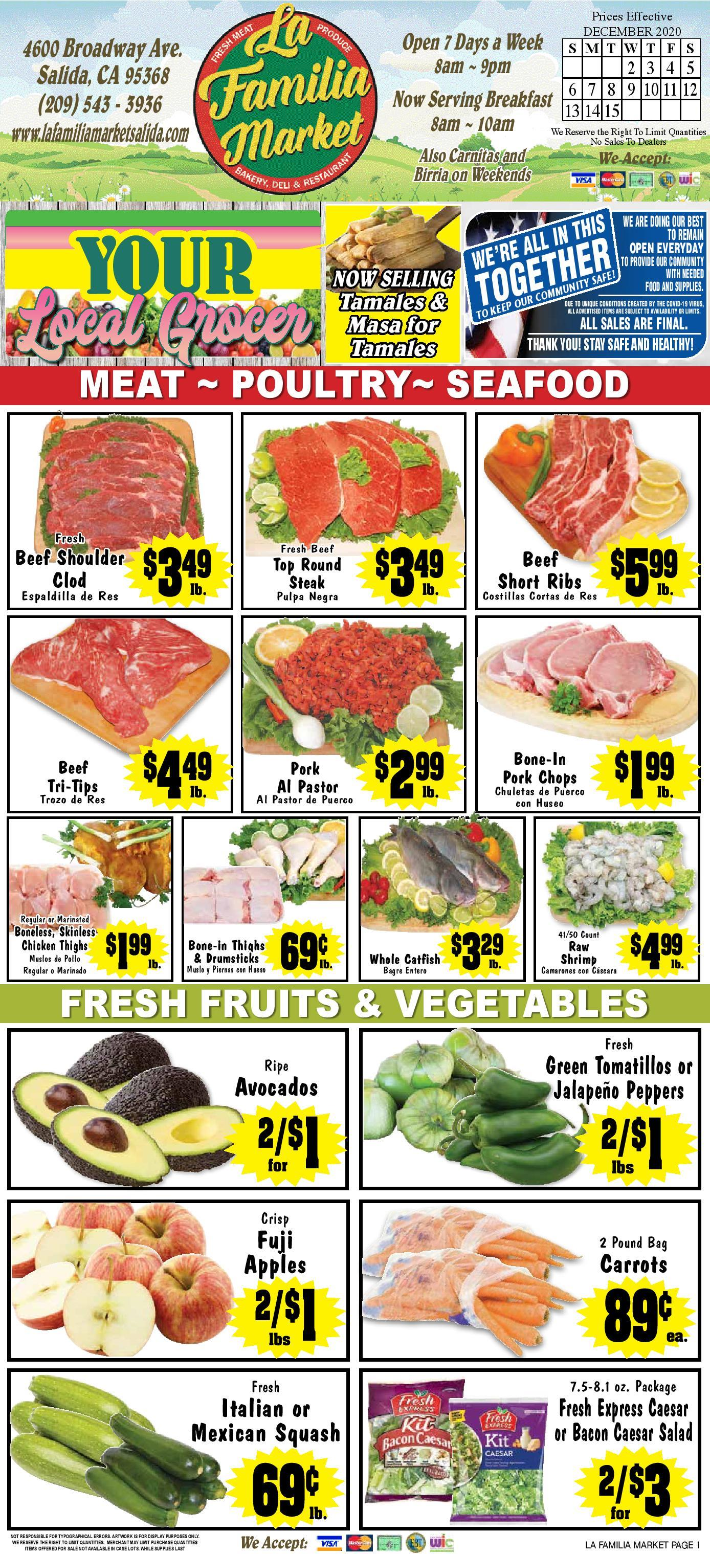 weekly specials page 1