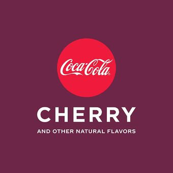 coke cherry logo