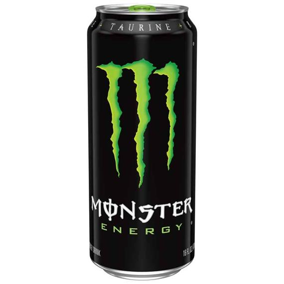 monster energy black can