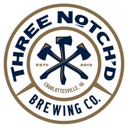 Three Notch'd  Brewing Company charlottesville, va est. 2013