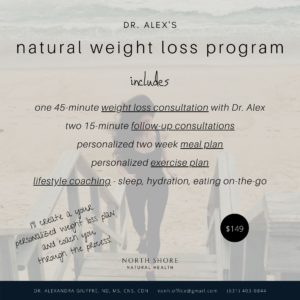 Natural Weight Lost Program product