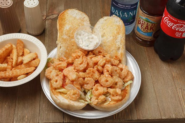 Shrimp Po-Boy Coca-Cola Combo