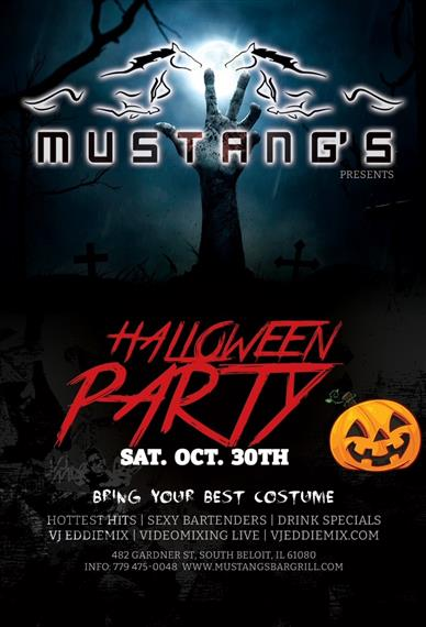 Halloween Party Saturday, October 30th