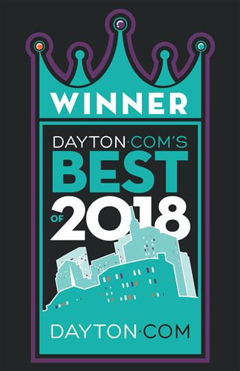 Winner Dayton Com's Best of 2018!