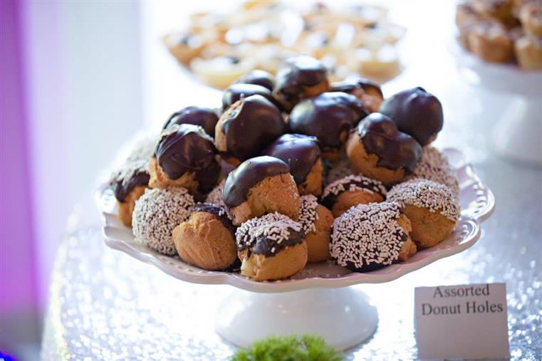 small pastries covered in chocolate