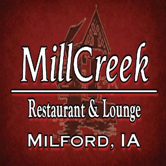Mill Creek Restaurant and Lounge. Milford, IA