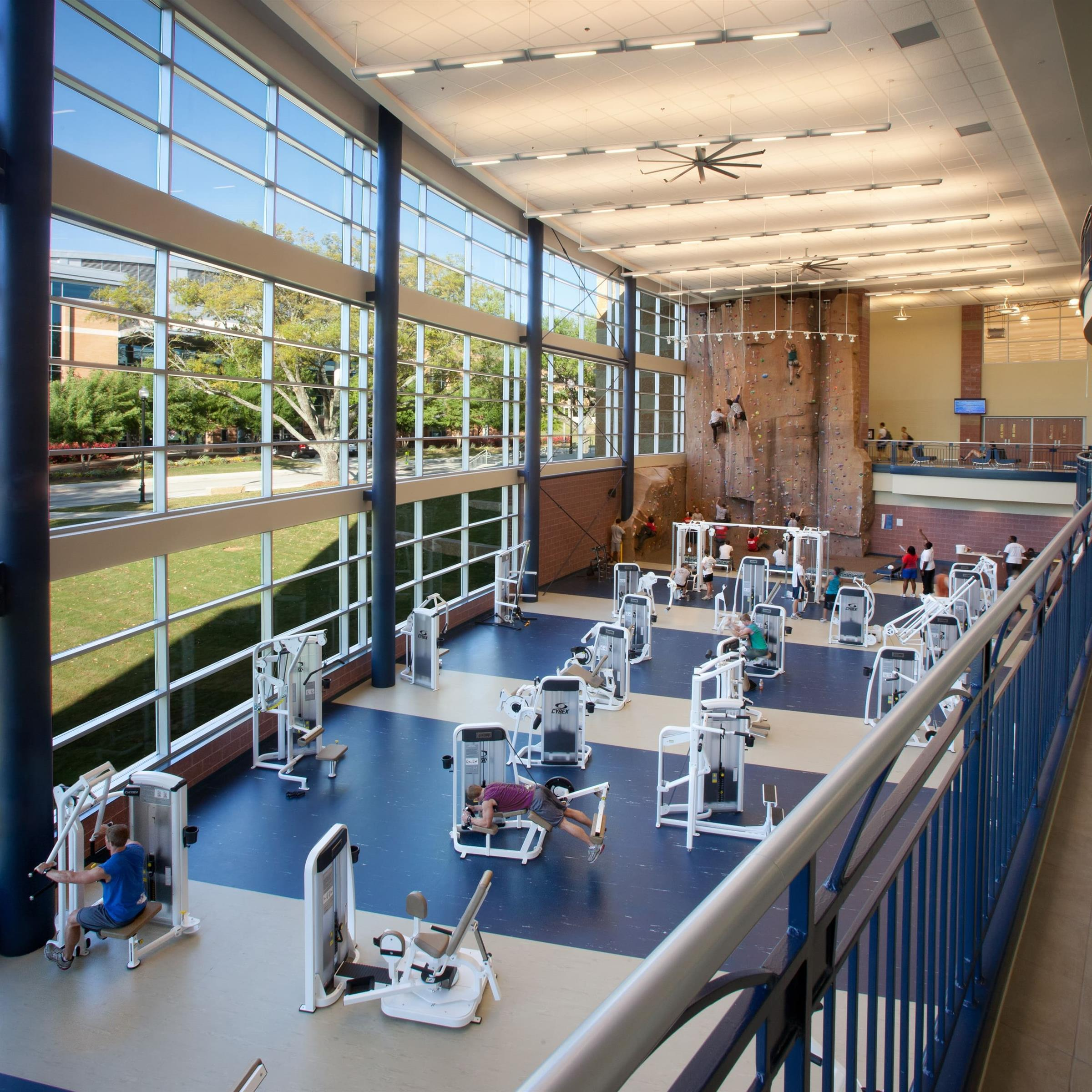 Columbus State Recreation Center Interior
