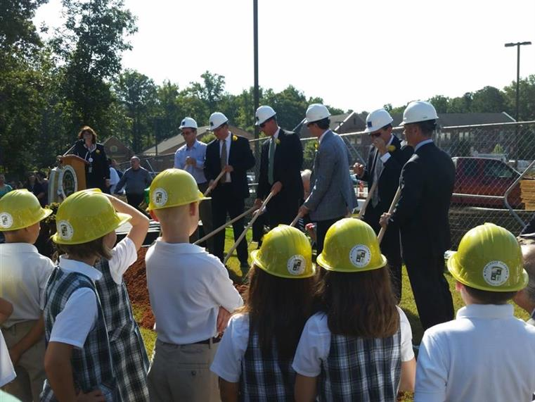Ground Breaking Ceremony for Pinecrest Academy
