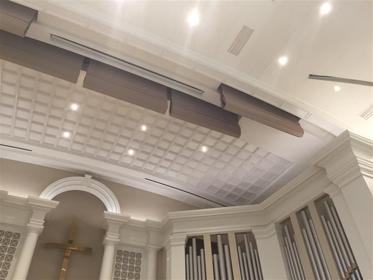 Acoustic System installed in the Dunwoody  Methodist Church
