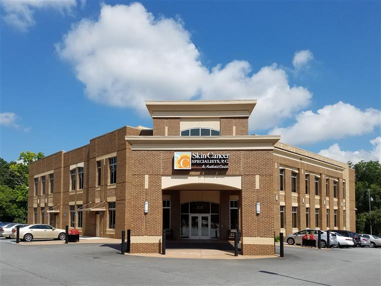 3-story building