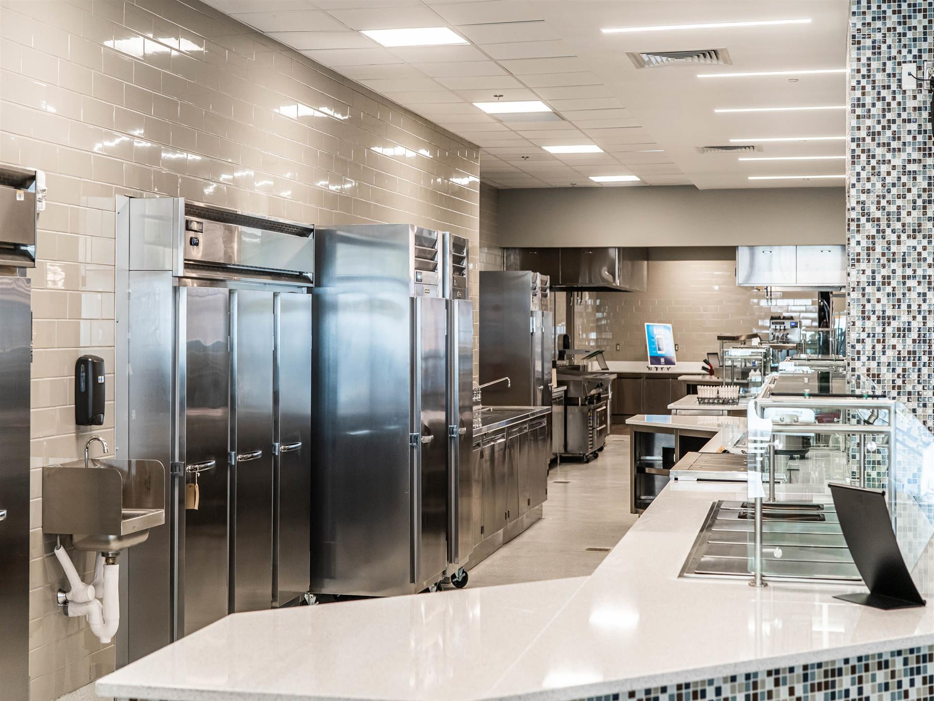 Student Dining - kitchen