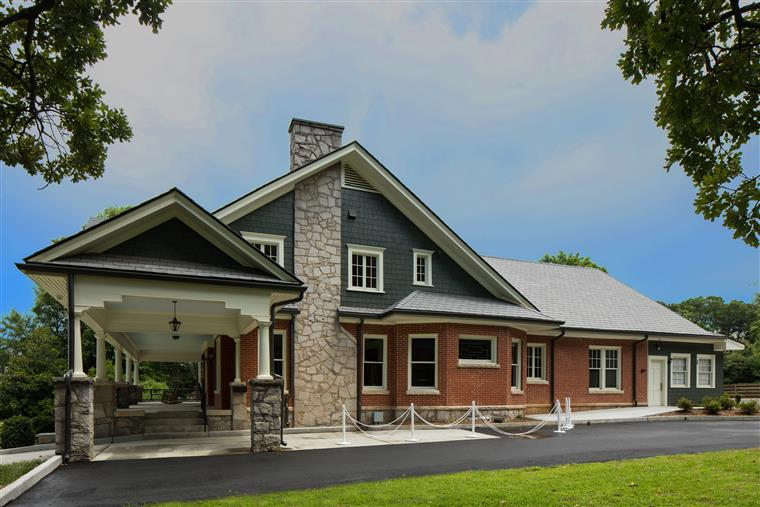 Event Center - 2 story craftsman style residential look