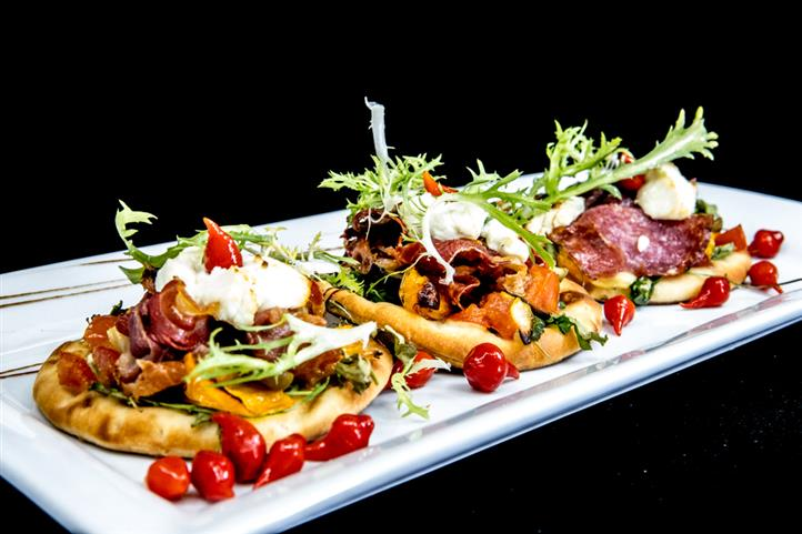 antipasto flatbread