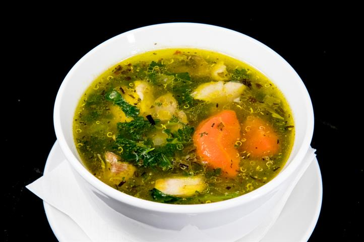 Chicken and Grain Soup