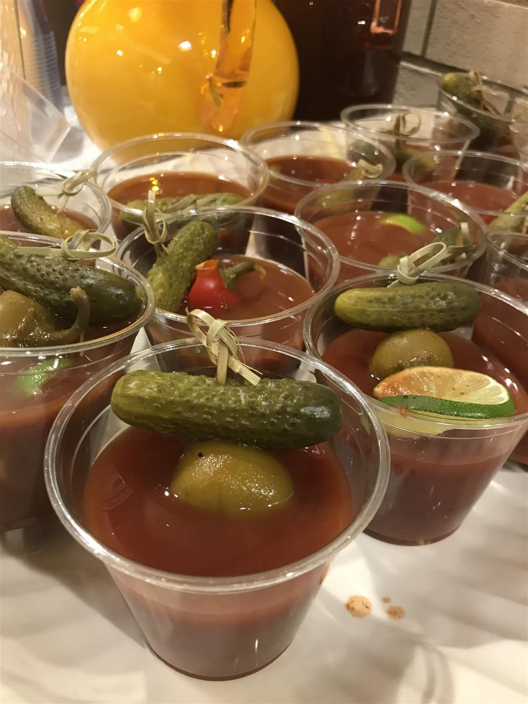bloody mary mocktails