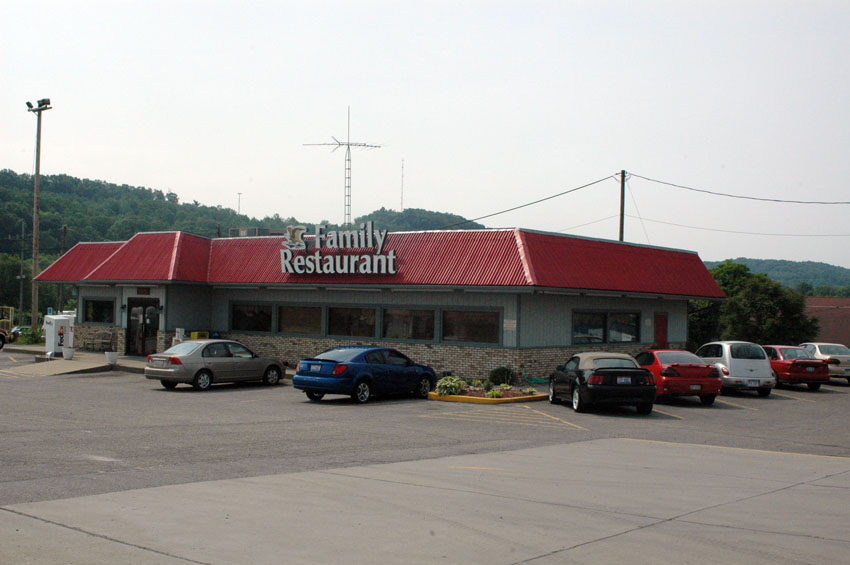 view of restaurant from parking lot