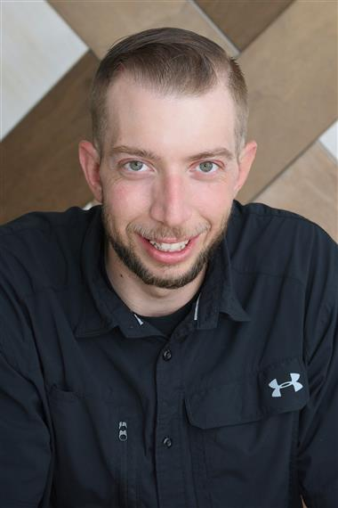 portrait of kyle morgan, Director of Communications & Assistant Operations Director