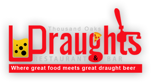 Draughts Restaurant and bar. Thousand oaks. Where great food meets great draught beer.