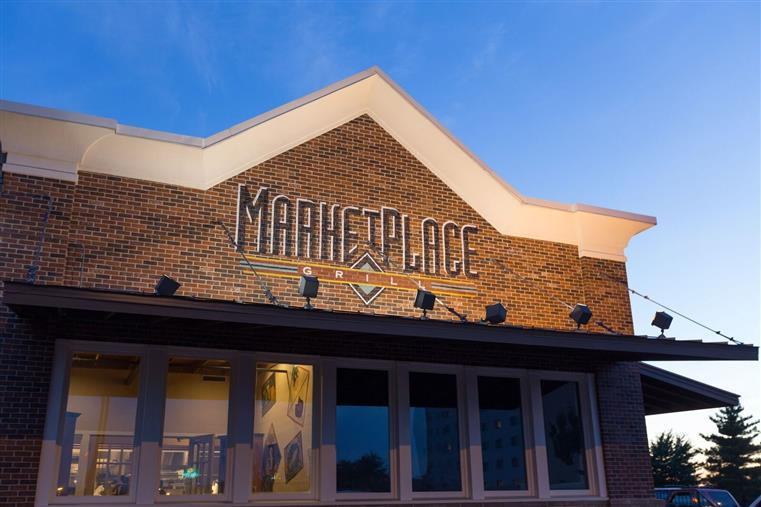 Exterior of MarketPlace Grill - Conway Location