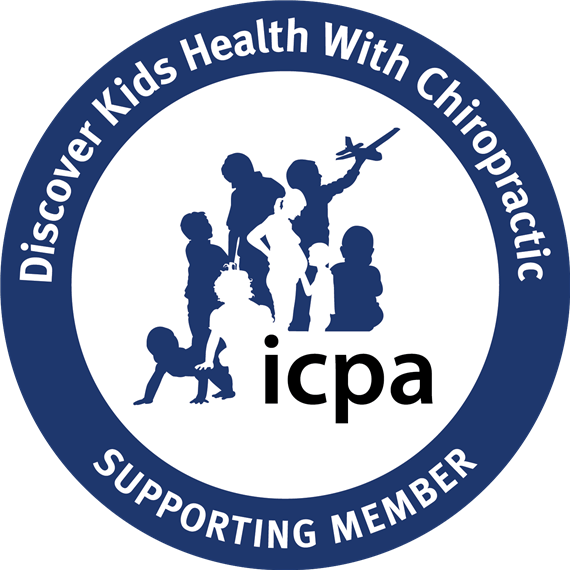 I C P A. DIscover kids health with chiropractic supporting member