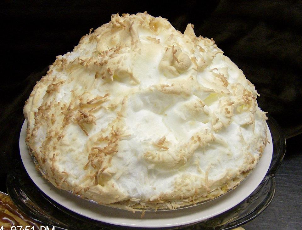 toasted meringue topped pie