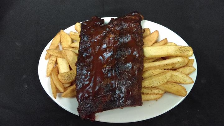 Baby Back Ribs, House or Smoked  Dinner